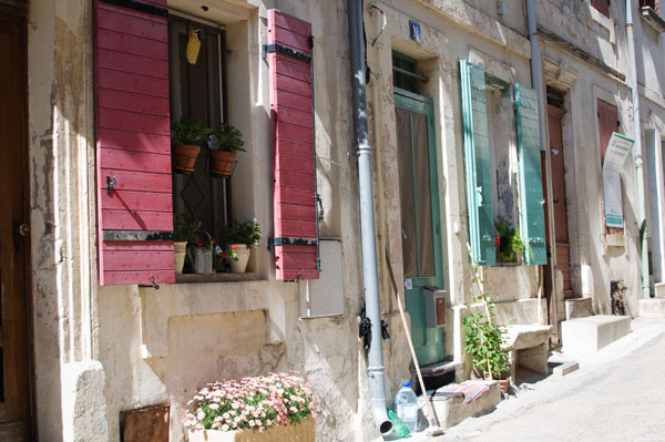 Rues colorées Arles