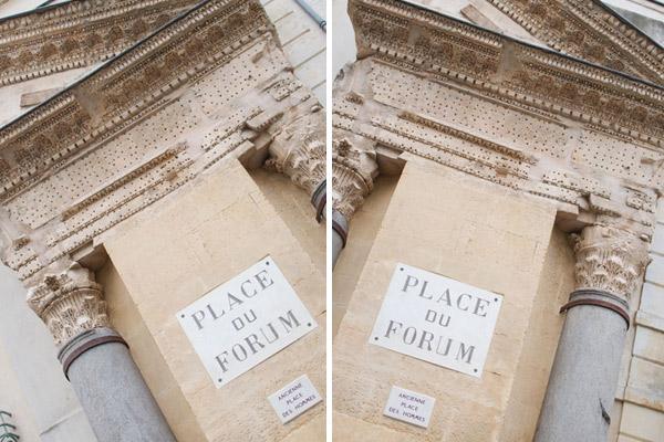 Place du Forum en Arles