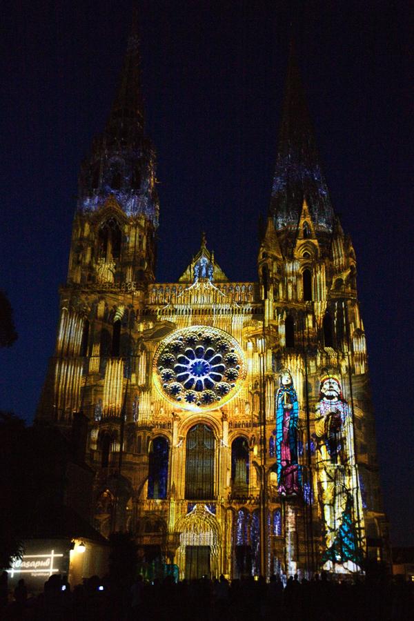 Cathédrale de Chartres en Lumières