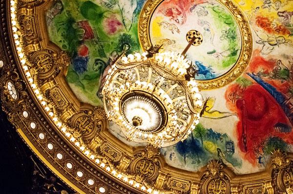 La scène du Palais Garnier