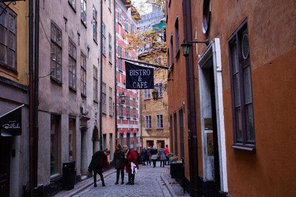 Stockholm - Vieille ville