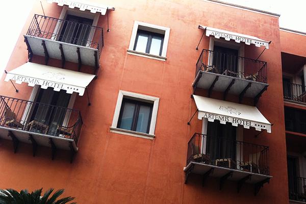 Hôtel Artemis à Cefalu, Sicile