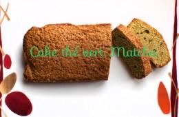Recette du Cake au thé vert Matcha du Japon