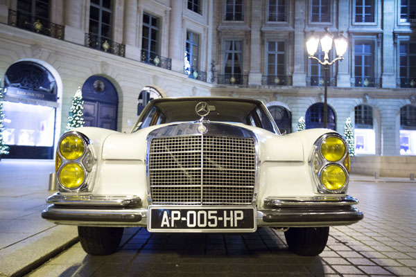 Paris Balade en Mercedes 280 SE