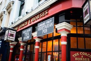 Coach & Horses Soho Secret Tea Room London