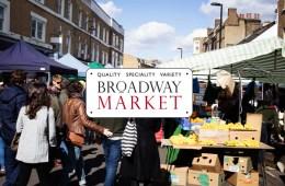Broadway Market à Londres