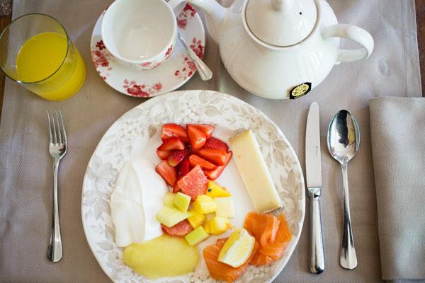 Petit-Déjeuner au Café des Artistes