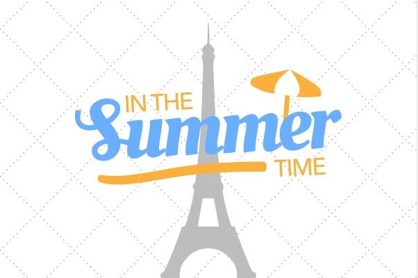 Passer l'été à Paris en Août