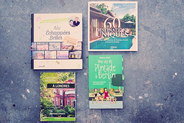 Ma bibliothèque sur les voyages