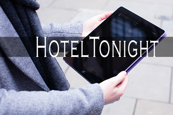 Application mobile Hotel Tonight