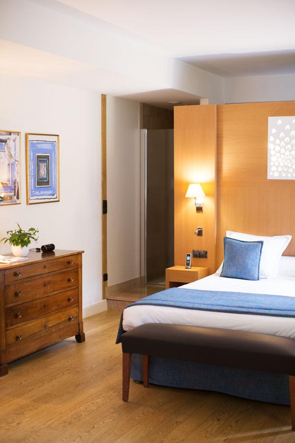 Chambre à l'Hostellerie de Levernois