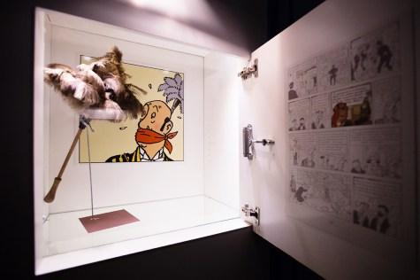 Exposition Tintin Cheverny
