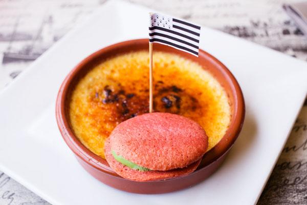 Crème brûlée bretonne