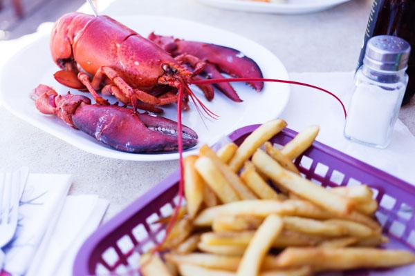 Manger du homard au Canada