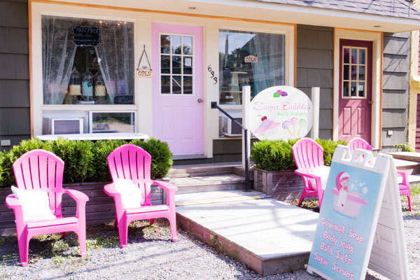 Sugar Bubbles bath Bakery Mahone Bay
