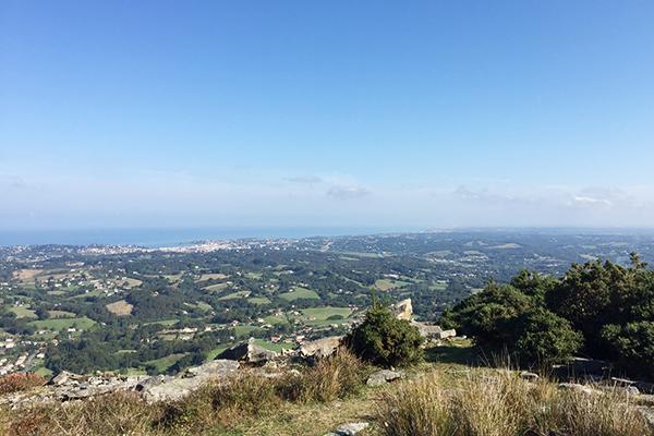 Randonnée dans le Pays-Basque