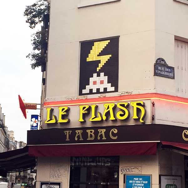 Flash Invader Paris