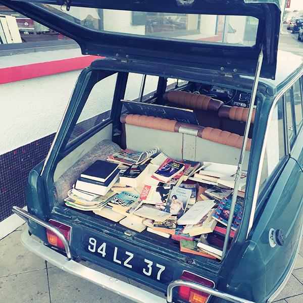 Bibliothèque mobile Surgères