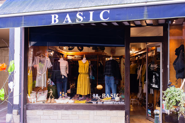Boutique mode Basic Trouville