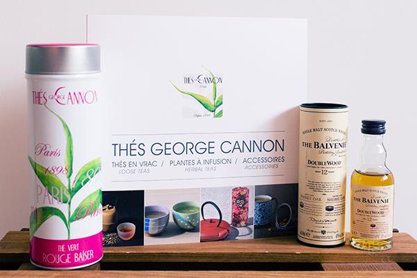 Thé George Cannon x whisky The Balvenie