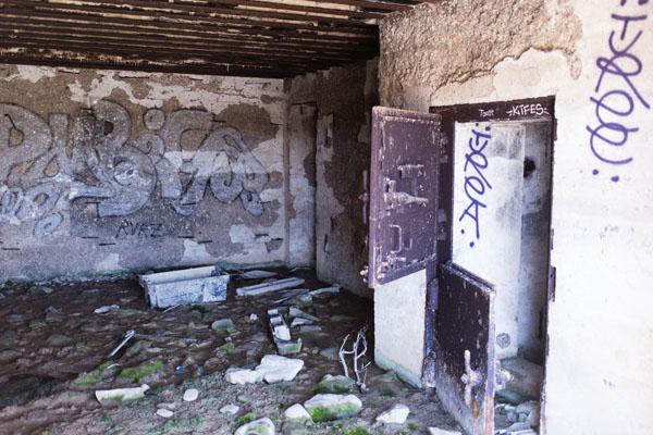 Bunker allemand au Phare de Goury