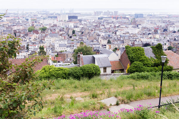 Panorama sur Le Havre