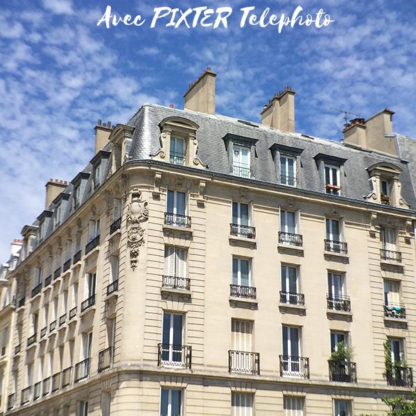 Test pixter telephoto pro