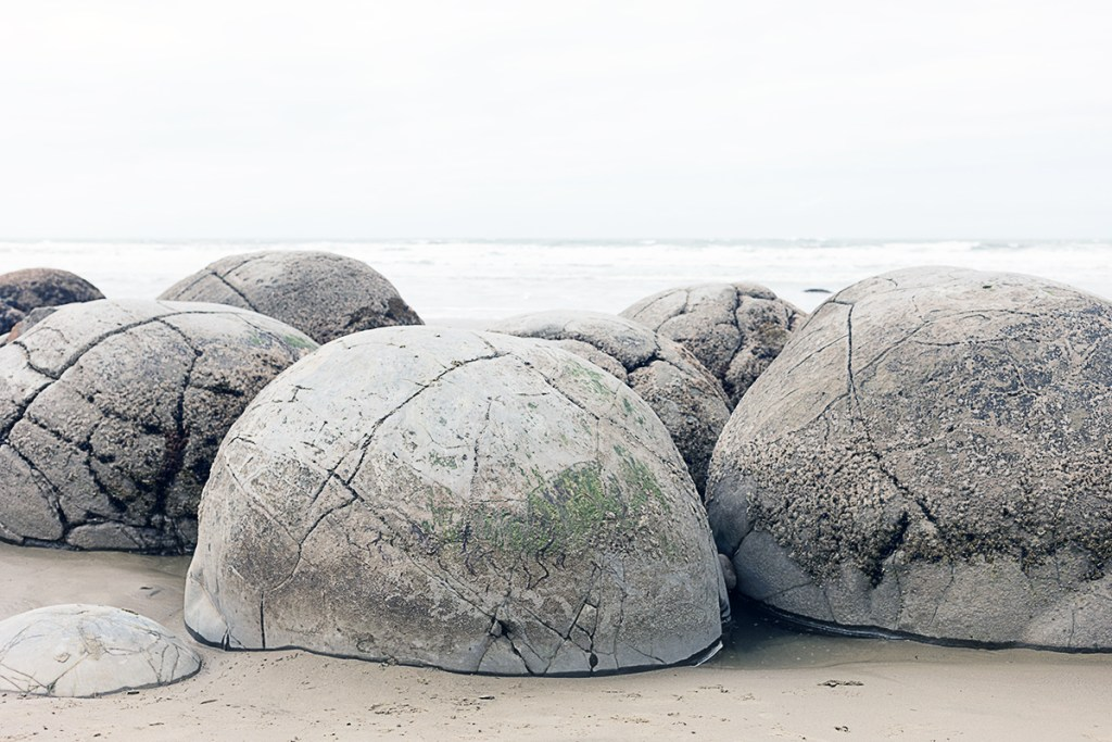 Koekohe beach moeraki boulders dunedin