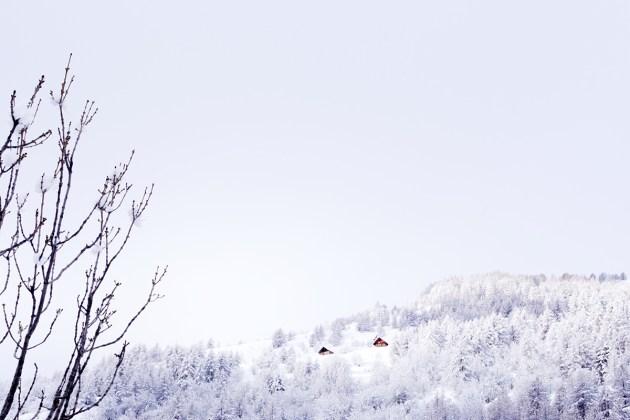 Raquettes à neige à Freissinières