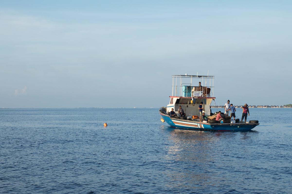 Bateau de pêcheurs Velassaru