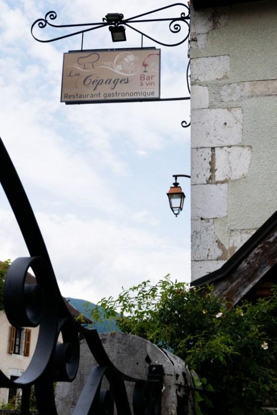 Restaurant Les Cépages à Thoiry