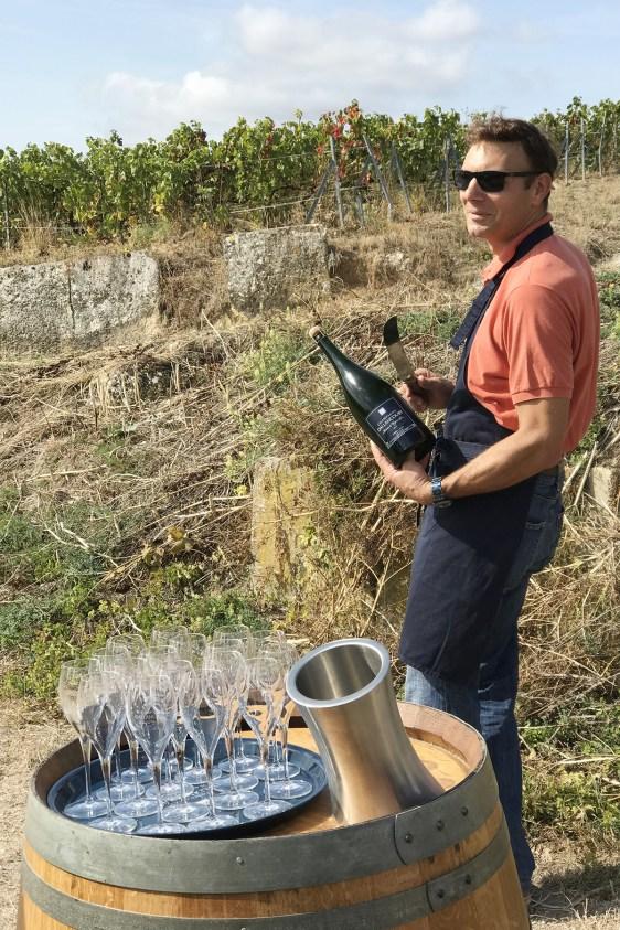 sabrage du Champagne