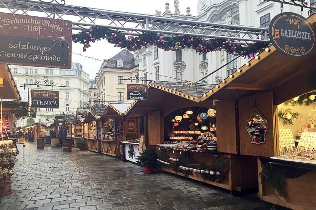 Marché de Noël Vienne