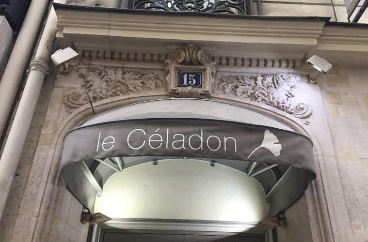 Restaurant gastronomique Le Céladaon Warwick Paris