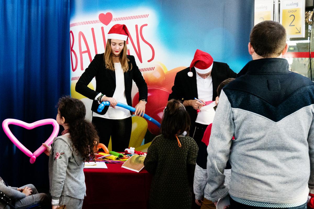 Vol du Père Noël Air Transat x Petits Princes