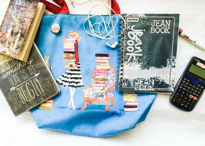 What's in a Bookworm's Bag?