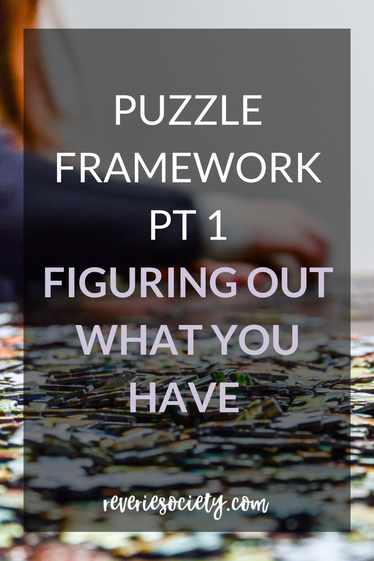 The Puzzle Framework Part 1: Figuring Out What You Have