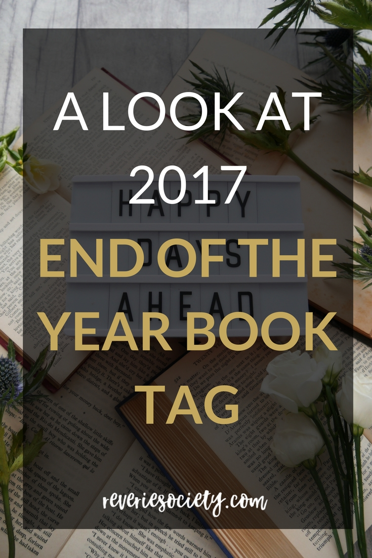 A Look at 2017 -End of the Year Book Tag