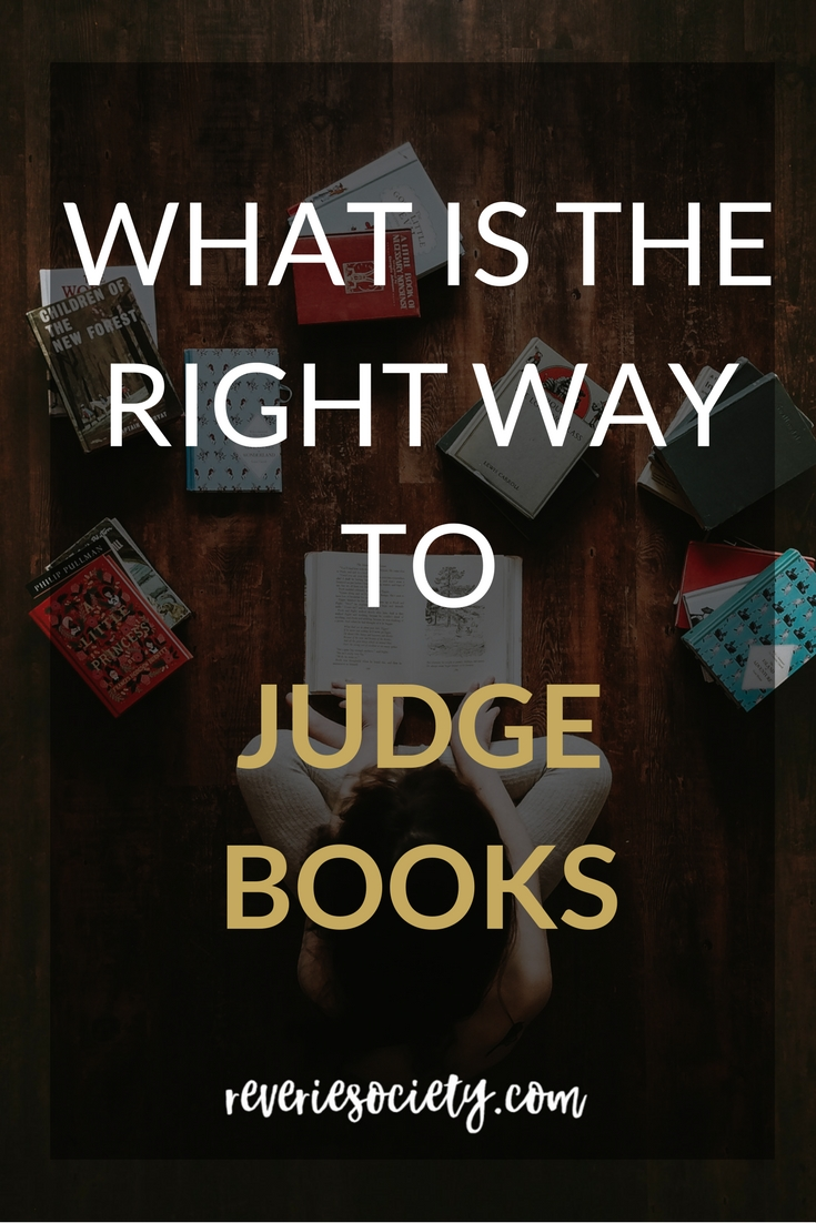 What is the right way to judge books?