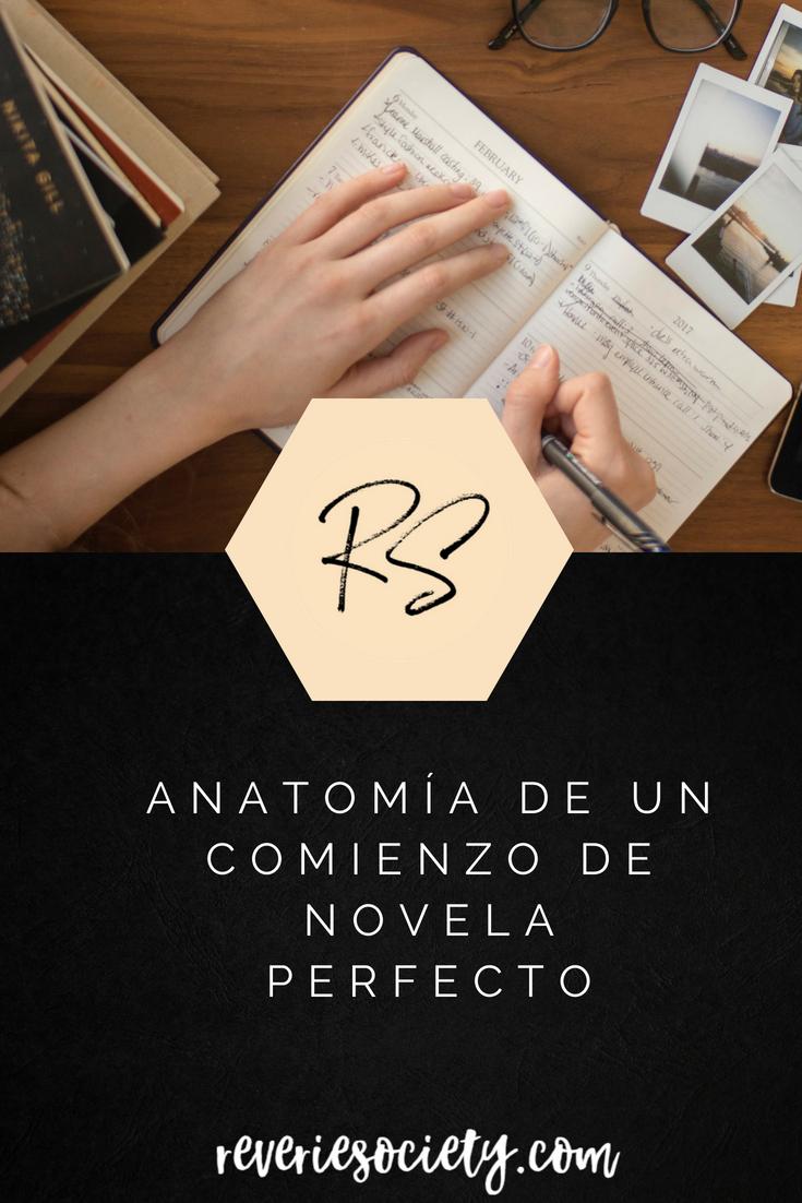 Anatomía de un Comienzo de Novela Perfecto - Reverie Society