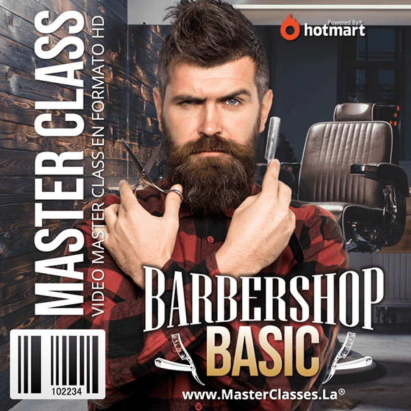 Barber Shop Basic by reverso academy cursos clases online
