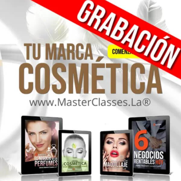 SUPER PACK Tu marca cosmética by reverso academy cursos online clases
