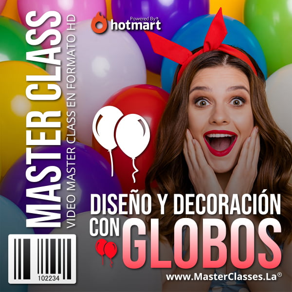 Diseño y Decoración de Globos by reverso academy cursos online clases