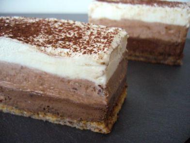 Versaillais aux trois chocolats