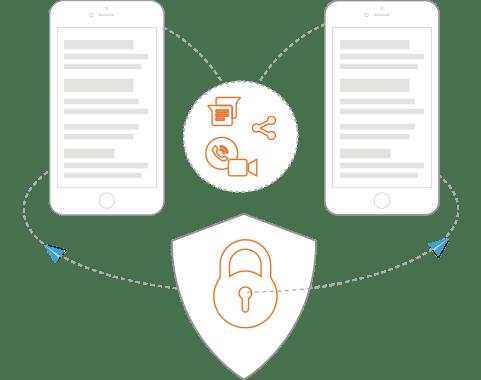 Secure Enterprise Communication App
