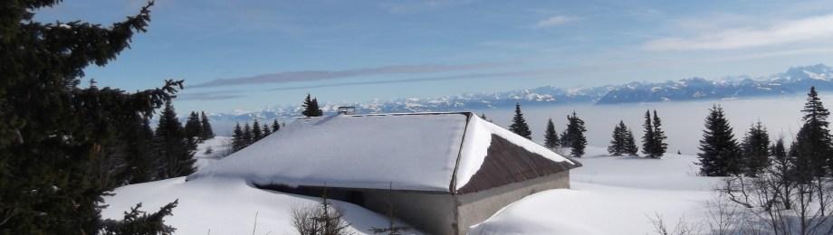 Près du Marchairuz en Jura Suisse