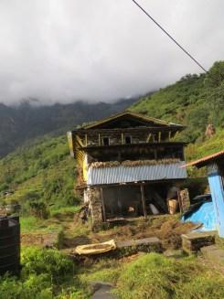 Népal, habitat colline