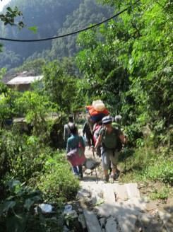 Népal, au-dessus de Barabhise