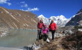 Népal, Rolwaling, Ripimoshar glacier