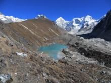 Népal, Rolwaling, Ripimoshar et dudh pokhari
